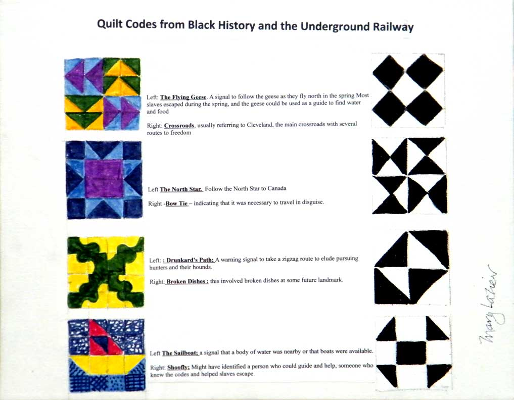 Stars of Georgian Bay : slave quilts codes - Adamdwight.com